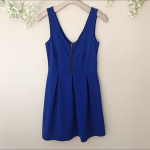 JustFab Zipper Front Dress